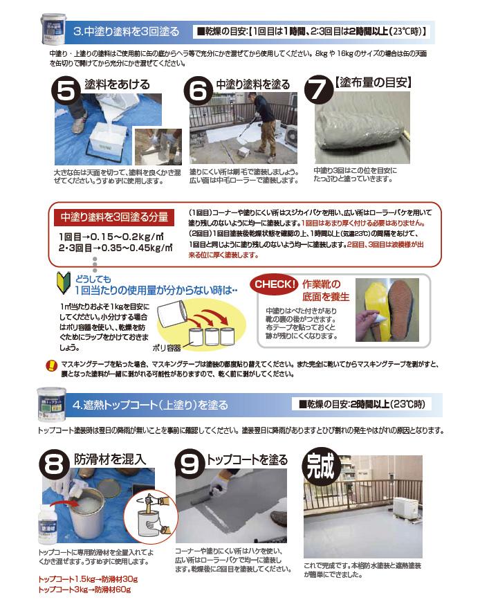 水性防水塗料とは5