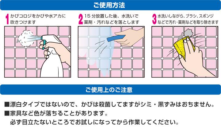 かびコロジ 乳酸かび取り洗浄剤とは