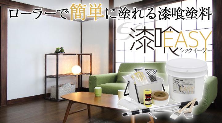 EF漆喰EASY 16kg + 洋室専用塗装セットとは