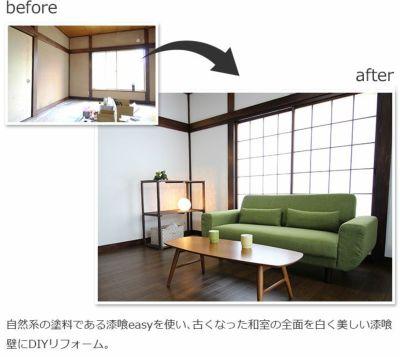 EF漆喰EASY 16kg+専用おすすめ塗装セット (中)