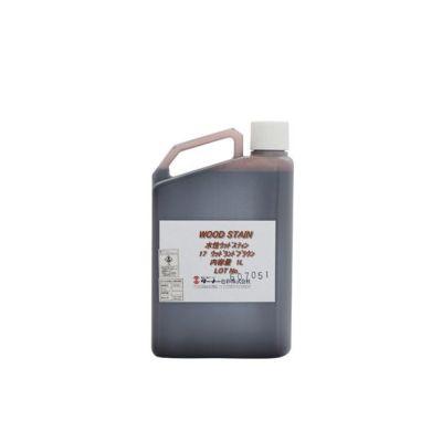 水性ウッドステイン 1L (ターナー色彩/木材/木部/着色剤/柱/床/建具/家具)