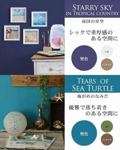 EF NOUVEAU(ヌーボー)海シリーズ2L+専用塗装用具セット(ペンキ/塗料/水性/室内塗料/屋内塗料/壁紙/内装)