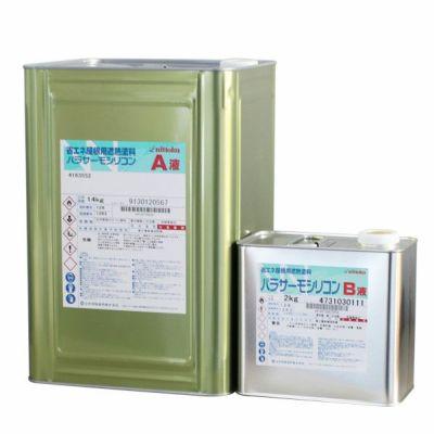 パラサーモシリコン 標準色 16kgセット(日本特殊塗料/弱溶剤2液型遮熱屋根用塗料)