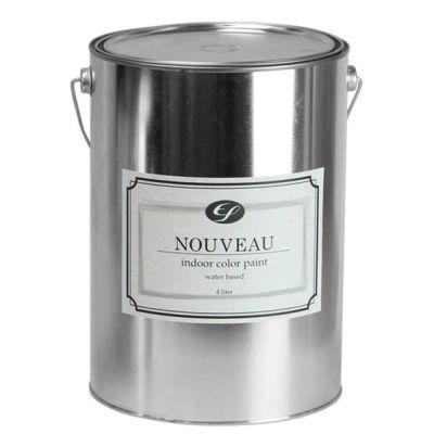 EF NOUVEAU(ヌーボー) ナチュラル 4L (ペンキ/塗料/水性/DIY/壁紙/室内壁/屋内壁/内装)