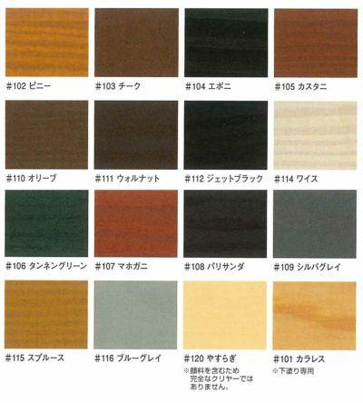 キシラデコール やすらぎ クリヤー 16L (油性/木材保護塗料/屋外木部/ウッドデッキ/ログハウス/大阪ガスケミカル)