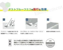 ダストプルーフECO 20kg (アシュフォードジャパン/コンクリート床用)