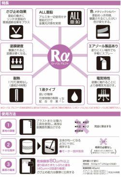 ローバルアルファ 3.5kg (ローバル/亜鉛めっき塗料/錆止め)
