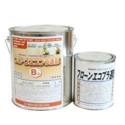 フローンエコプラ速乾 3kgセット (東日本塗料/下塗り/床/屋根/内外装/防水材)