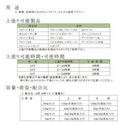 フローンプライマーH 2kgセット (東日本塗料)