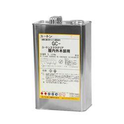 ユートンエクステリア セミグロス(半ツヤケシ) 4L  (玄々化学工業/ウレタン樹脂/油性ニス)