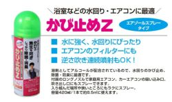 かび止めZスプレー,420ml,サンデーペイント,かび止め剤,SPカビドメZスプレー
