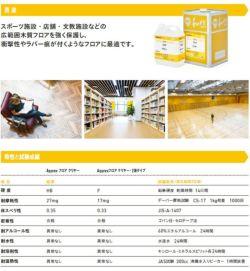 アクレックス フロア クリヤー 4kg (164767/和信化学/Aqurex/水性/床用/屋内木部塗料)